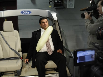 Ford Puts Airbags In The Seat Belts