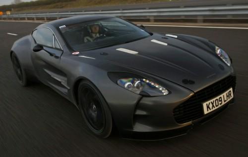 Aston Martin One 77 Set 354 Km H Top Speed