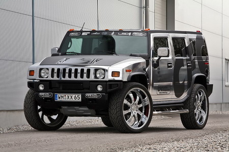CFC chrome hummer 1 at Chromed Out Hummer H2 By CFC