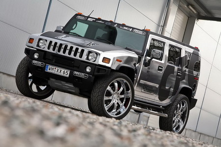 CFC chrome hummer 2 at Chromed Out Hummer H2 By CFC