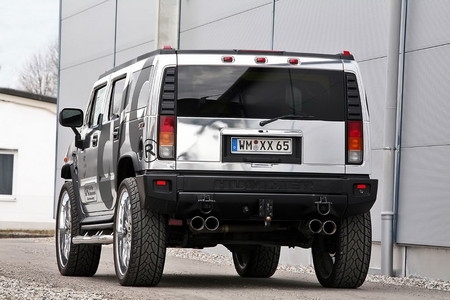 CFC chrome hummer 3 at Chromed Out Hummer H2 By CFC