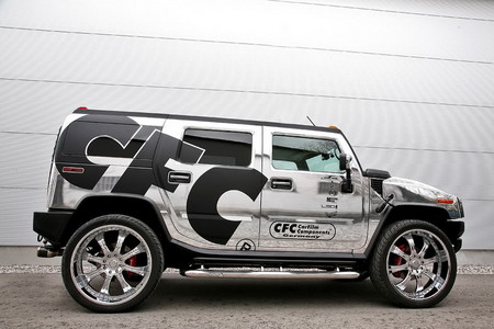 CFC chrome hummer 4 at Chromed Out Hummer H2 By CFC