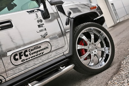 CFC chrome hummer 7 at Chromed Out Hummer H2 By CFC