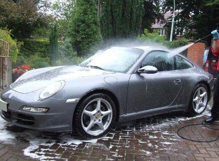 vehicle wash at How to Wash a Vehicle