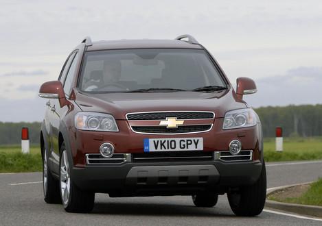 2010 Chevrolet Captiva Ltz Uk Spec