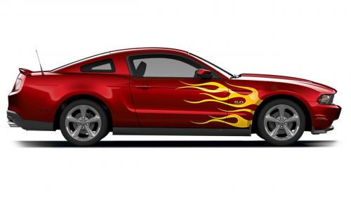 Ford S Custom Graphics For Mustang And F 150