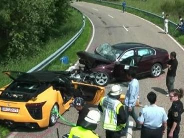 lexus bmw accident at Lexus and Toyota chief test driver died in an accident