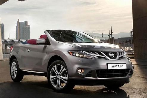 New Rendering Nissan Murano Crosscabriolet Crosscabriolet