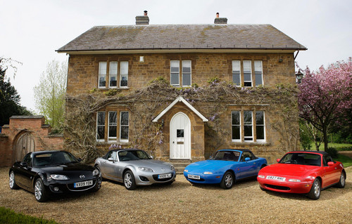 mazda mx5 uk at Mazda MX 5 UK Sales Pass 100,000 Milestone