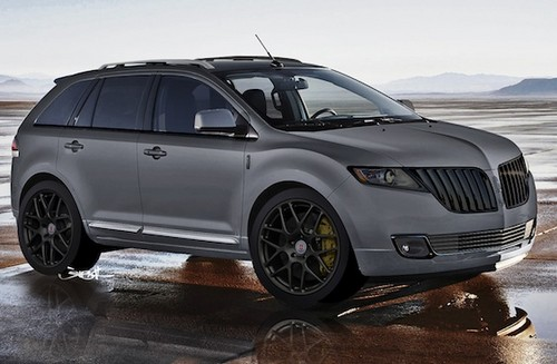 ford fusion ford edge and lincoln mkx at sema. Black Bedroom Furniture Sets. Home Design Ideas
