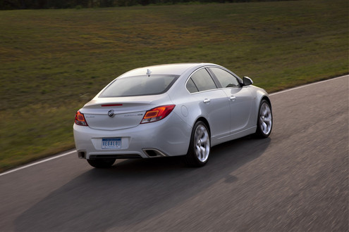 2012 buick regal GS 5 at 2012 Buick Regal GS