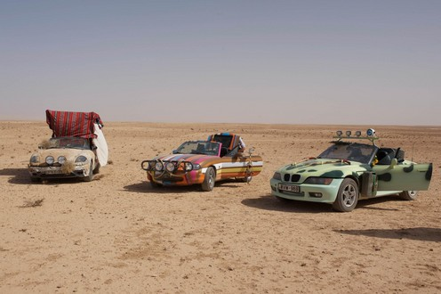 TG wise men 1 at Top Gear Middle East Special Cars Go On Display