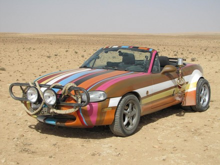 TG wise men 5 at Top Gear Middle East Special Cars Go On Display