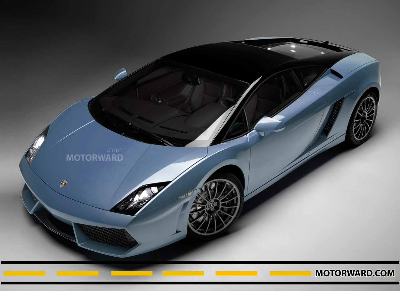Lamborghini Gallardo LP 560 4 blue 1 at Lamborghini Gallardo LP 560 4 Bicolore   New Colors