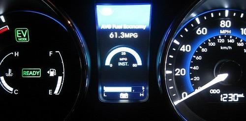 Hyundai Sonata Hybrid Ch 4 At Hyundai Sonata Hybrid Sets MPG Record