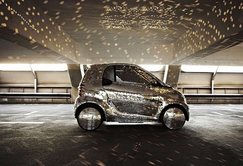 smart disco ball 2 at smart fortwo Gets Disco Ball Treatment
