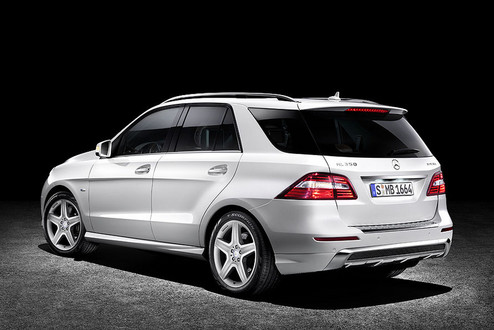2012 Mercedes ML Official Pictures 2012 mrcedes ml official 12
