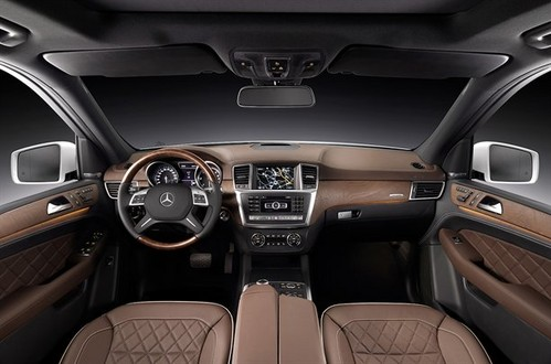 2012 Mercedes ML Official Pictures 2012 mrcedes ml official 7