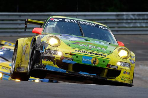 porsche ring 1 at Porsche Victorious At Nurburgring 24 Hours