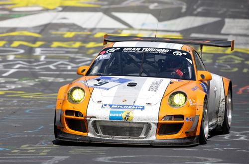 porsche ring 2 at Porsche Victorious At Nurburgring 24 Hours