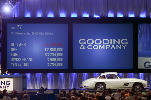 1955 Mercedes Benz 300SL 1 a at 1955 Mercedes Benz 300SL Sells for $4.62 million