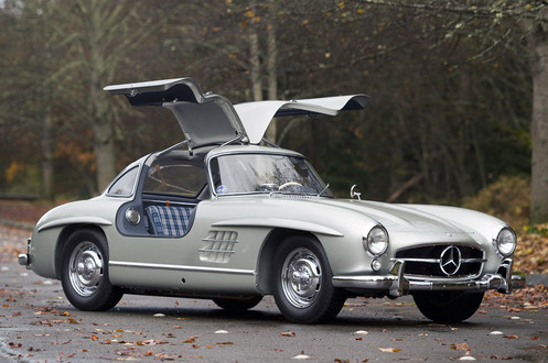 1955 Mercedes Benz 300SL 1 at 1955 Mercedes Benz 300SL Sells for $4.62 million