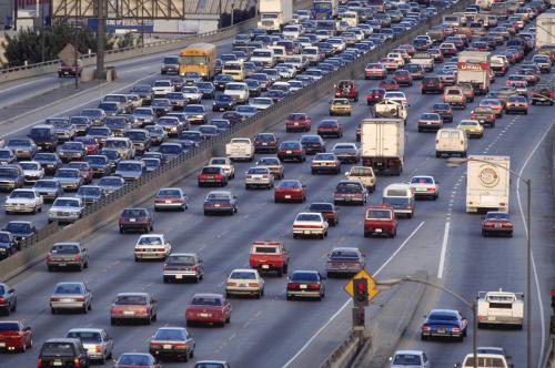 highway traffic at Stress Free Driving Skills