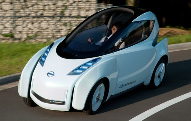 nissan land glider at Future: Car Usership instead of Car Ownership?