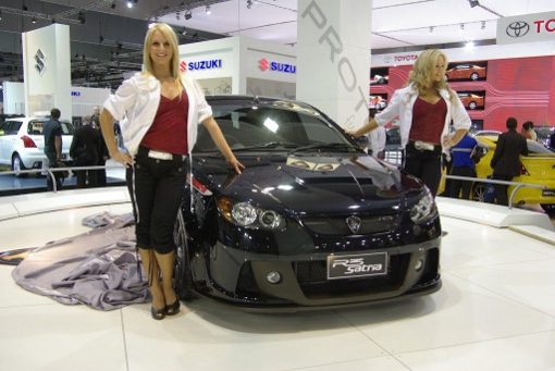 proton satria girls at Malaysian Government Sells Stake in Proton Cars