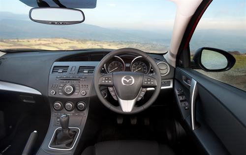 Attractive Upgraded Mazda3 3 At 2012 Mazda3 Facelift: UK Prices And Specs