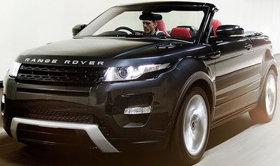 evof at Geneva 2012: Range Rover Evoque Convertible
