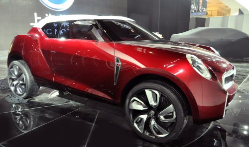 MG Icon Concept 1 at 2012 Beijing: MG Icon Concept