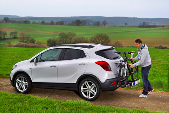 Buick Encore Bike Rack >> Opel Mokka Gets Flexfix Bike Carrier