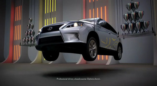 Lexus RX ad 1 at 2013 Lexus RX F Sport   New Commercials Released