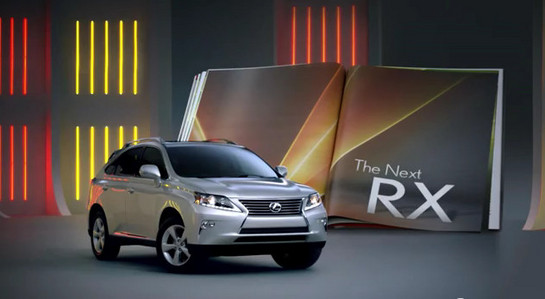 Lexus RX ad 2 at 2013 Lexus RX F Sport   New Commercials Released