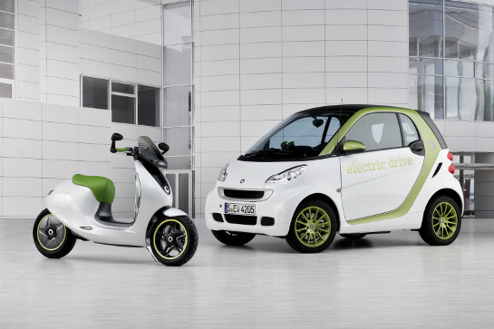 Smart eScooter at Smart confirms Electric Scooter in 2014