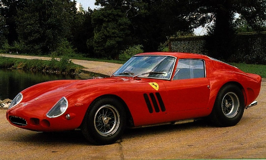 ferrari 250 gto at Playboy chooses the Best Cars in History