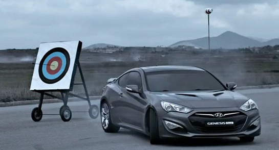 Hyundai Genesis Coupe vs An Arrow - Which Is Faster?