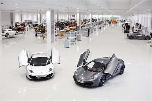McLaren Automotive 1 at McLaren Automotive Celebrates First Anniversary