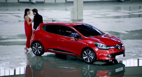 new renault clio gets fancy commercial. Black Bedroom Furniture Sets. Home Design Ideas