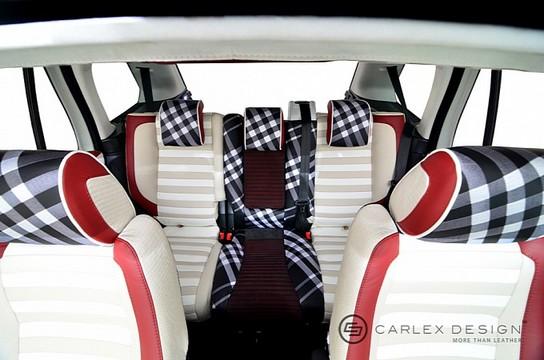 Carlex Range Rover With Burberry Interior