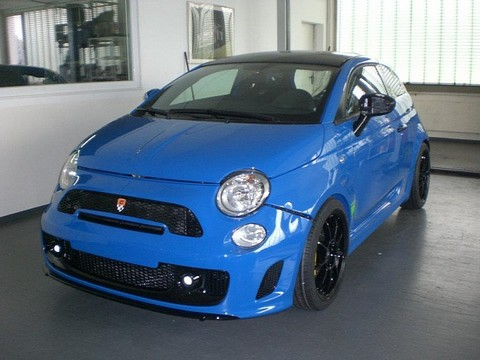 G-Tech Sportster Based On Fiat 500 Abarth
