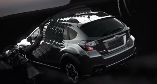the battle epic commercial for subaru xv. Black Bedroom Furniture Sets. Home Design Ideas