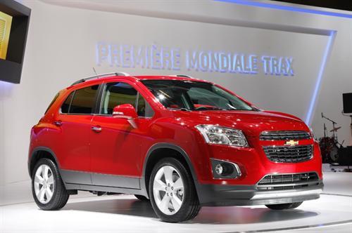 Chevrolet Trax Uk Specs Announced