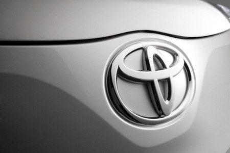 Toyota Logo at Toyota announces the final phase of its Takata airbag safety recall