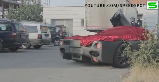 f70 caught at Ferrari Enzo Successor Caught On The Road
