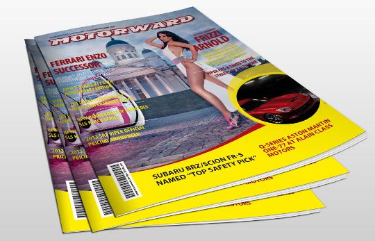 motorward magazine 1 pile at Motorward Digital Magazine   Edition 1