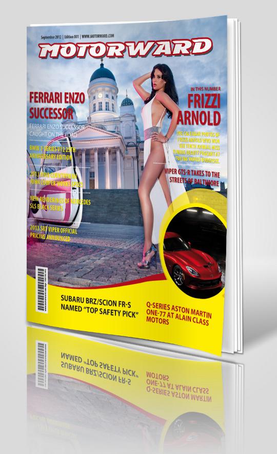 motorward magazine 1 stand at Motorward Digital Magazine   Edition 1