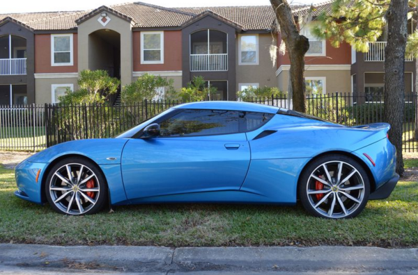 used lotus evora 600x396 at Lotus History and Photo Gallery