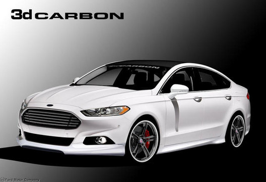 2013 Ford Fusion Sema Cars Revealed